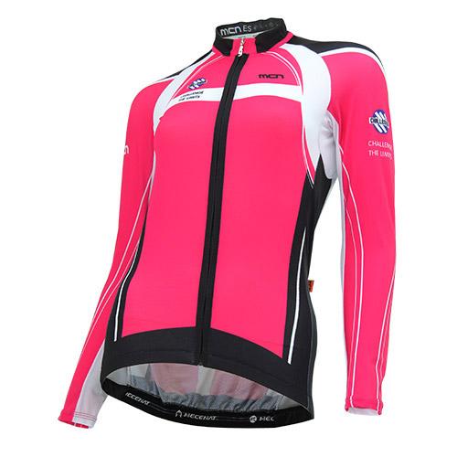 [더산스포츠](CJL-PINK MAX) 여성용 핑크 맥스 긴팔 져지 (봄~가을)자전거의류 자전거복 사이클웨어 인라인 라이딩 상의