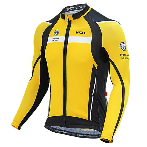 [더산스포츠](CJL-YELLOW MAX)옐로우 맥스 긴팔 져지 (봄~가을)자전거의류 자전거복 사이클웨어 인라인 라이딩 상의