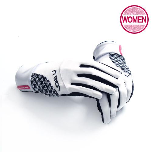 [더산스포츠](MGL-ELSA/여성/화이트)여성용 싸이클장갑 엘사 화이트