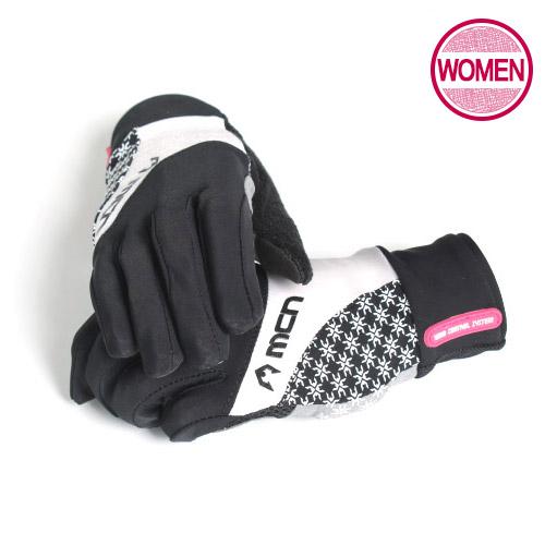 [더산스포츠](MGL-ELSA/여성/블랙)여성용 싸이클장갑 엘사 블랙