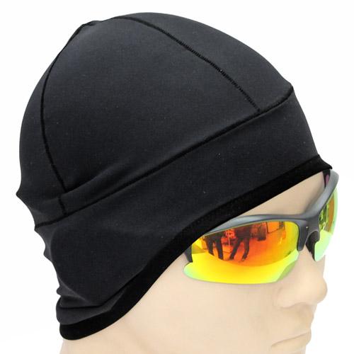 [더산스포츠](웜캡)warm cap(겨울방한)기모 웜 캡_블랙