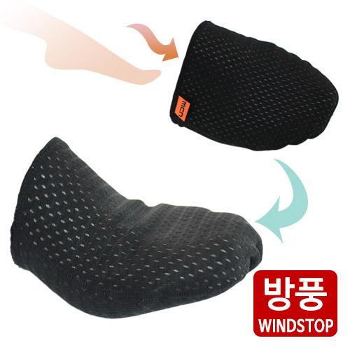 [더산스포츠](3Layer Inner-Toe Warmer)방풍 토워머 (발가락싸개)신발 밑에 신는 토 워머