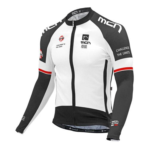 [더산스포츠](CJL-INOX WHITE)이녹스 화이트 긴팔 져지 (봄~가을용)자전거의류 자전거복 사이클웨어 인라인 라이딩 상의