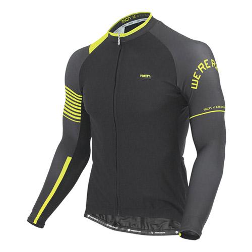 [더산스포츠](CJL-RIDER-BK)라이더 긴팔 져지-블랙 (봄~가을용)자전거의류 자전거복 사이클웨어 인라인 라이딩 상의