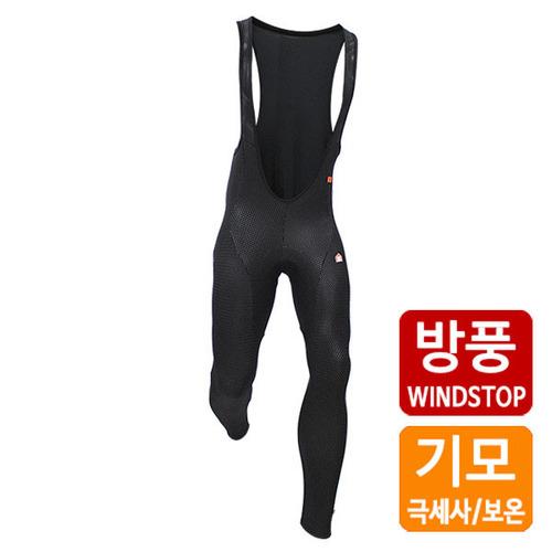[더산스포츠](3LAYER-BIB9)겨울용 방풍 패드빕 바지 베이직