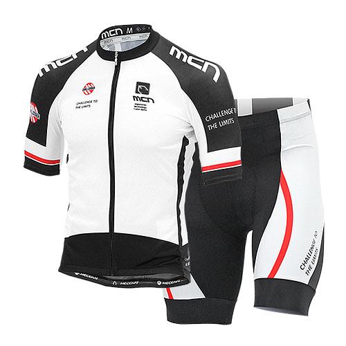 [더산스포츠](INOX-SET_WHITE) 이녹스 반팔져지+4부 패드바지 세트_화이트여름 자전거의류 자전거옷 자전거복 싸이클웨어 라이딩세트