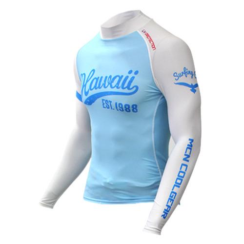 [더산스포츠]x 봄/가을용 (MRL-HAWAII_BLUE) 블루 하와이_기능성 언더레이어